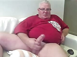 Fat dad cum bear (gay) big cock (gay) daddy (gay)