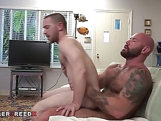 Excellent fucking bubble ass and huge cock bear (gay) big cock (gay) daddy (gay)