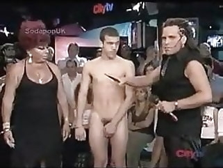 NAKED STRIP GAME ON LIVE TV man (gay) twink (gay) amateur (gay)