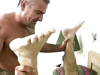 Muscle Hairy Bear Having babreback sex man (gay) bareback (gay) bear (gay)