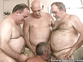 Circle Jerk Daddies man (gay) gay porn (gay)