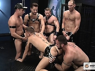 All the guys alternately fuck Shane's face and lick his ass! amateur (gay) gays (gay) group sex (gay)