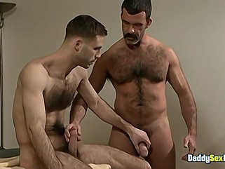 A Splooge Sucking Medical - Tony Bay & Roger gay american gay blowjob gay cumshot
