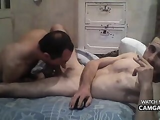 Boy sucks his friend's dick in live amateur webcam blowjob