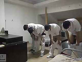 Teacher spanks four naughty boys fetish spanking punishment