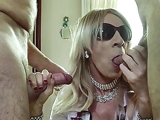 RachelSexyMaid 37 Shemale Threesome Fun with Cum in Mouth bareback (gay) blowjob (gay) bukkake (gay)