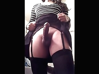 Autumn, lube, and cum! amateur (gay) big cock (gay) crossdresser (gay)
