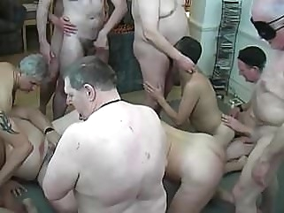 Daddies group party bareback (gay) daddy (gay) fat (gay)