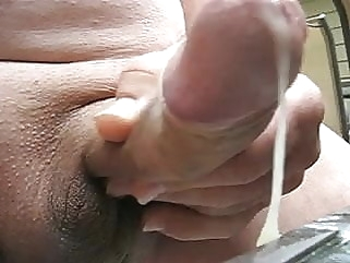 65 yr old Grandpa cums #4 man (gay) amateur (gay) handjob (gay)