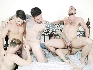 Paul Canon Cliff Jensen Jordan Levine Jacob Peterson big cocks (gay) blowjob (gay) gays (gay)